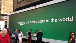 L'opération de street marketing de Carlsberg