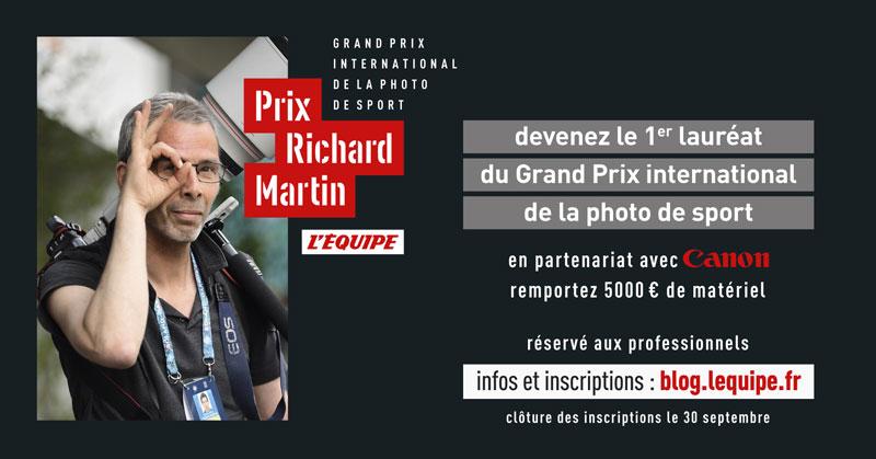 Participez au grand prix international de la photo de sport