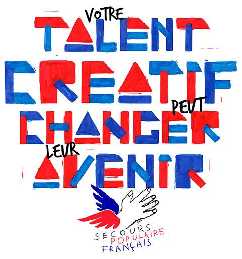 Votre talent créatif peut changer leur avenir