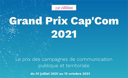 Participez au 33e Grand Prix du Cap'com