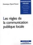 Les règles de la communication publique locale