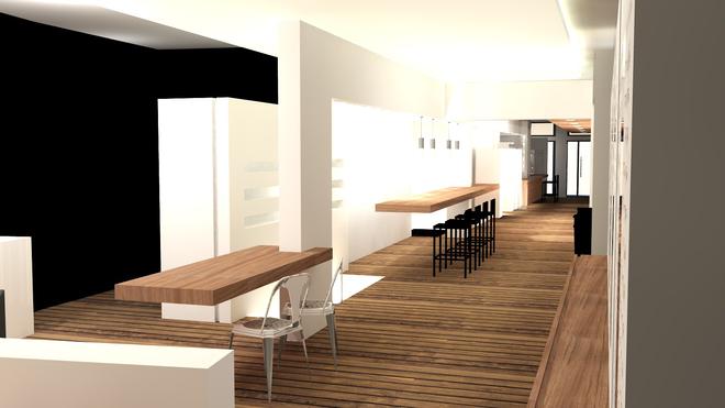 Conception d 39 un magasin optique en 3d image de synth se de a propos de li - Magasin amenagement maison ...