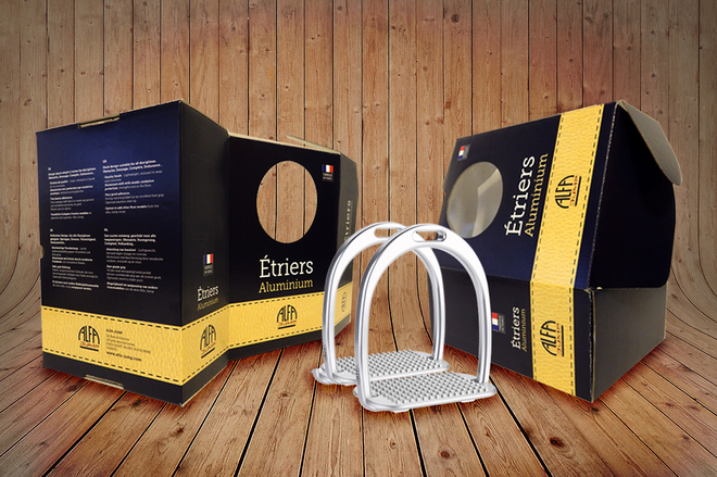 Ab ovo Design - Alfa Jump (Delmerle SAS) - Packaging