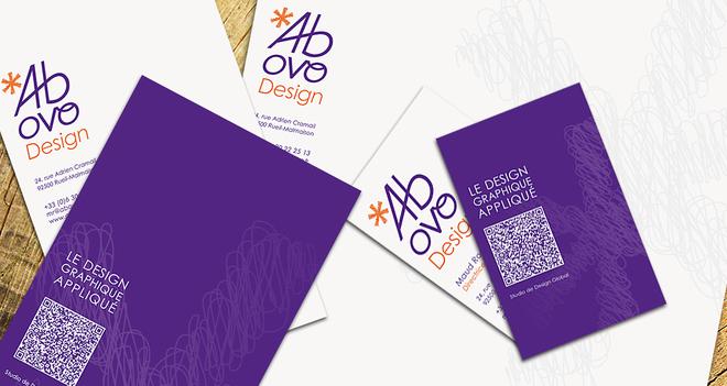 Ab ovo Design - Papier à en-tête, carte de visite, invitation, etc.