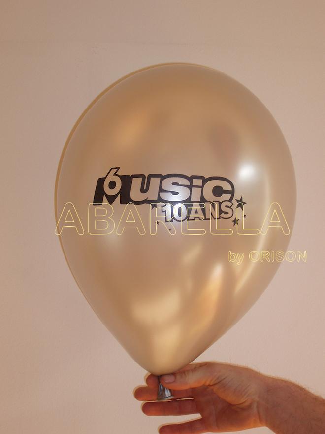 Abarella - Orison - Impression ballon latex de 30 cm 1 couleur