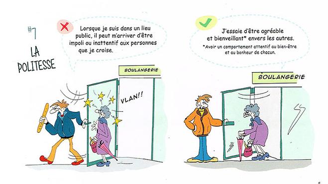 La politesse de ancelotte illustrateur dition presse jeunesse humour - Mes droits et mes devoirs ...