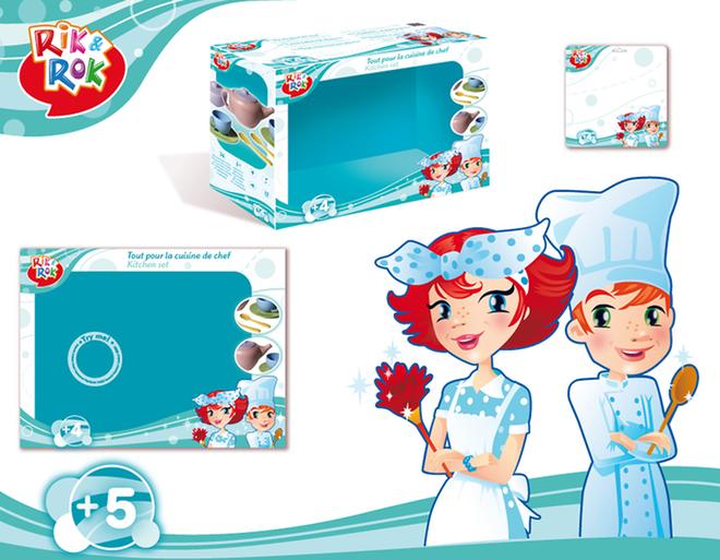 Christian-Jacques Attagnant - Création de charte graphique pour gamme de packaging de jouet