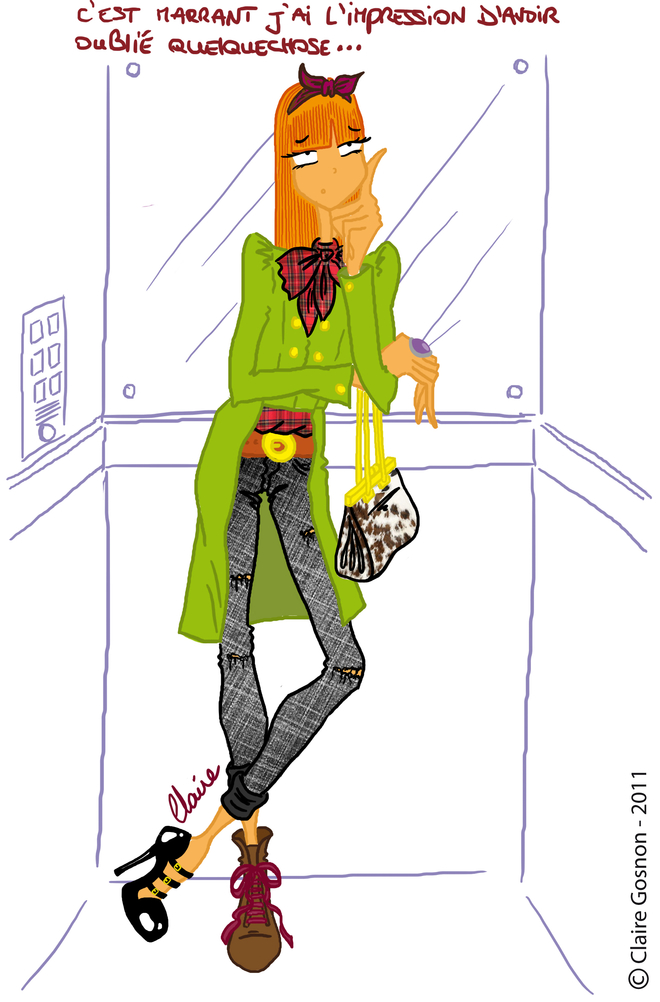 Chaussures L'ascensseur Rousse De Avec 2 Différentes Dans Femme 3ASRc5q4jL
