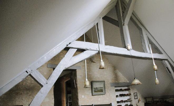 Toile tendu mur toile tendue murale toile tendue mur et plafond thomas scheubel votre - Pose toile tendue plafond ...