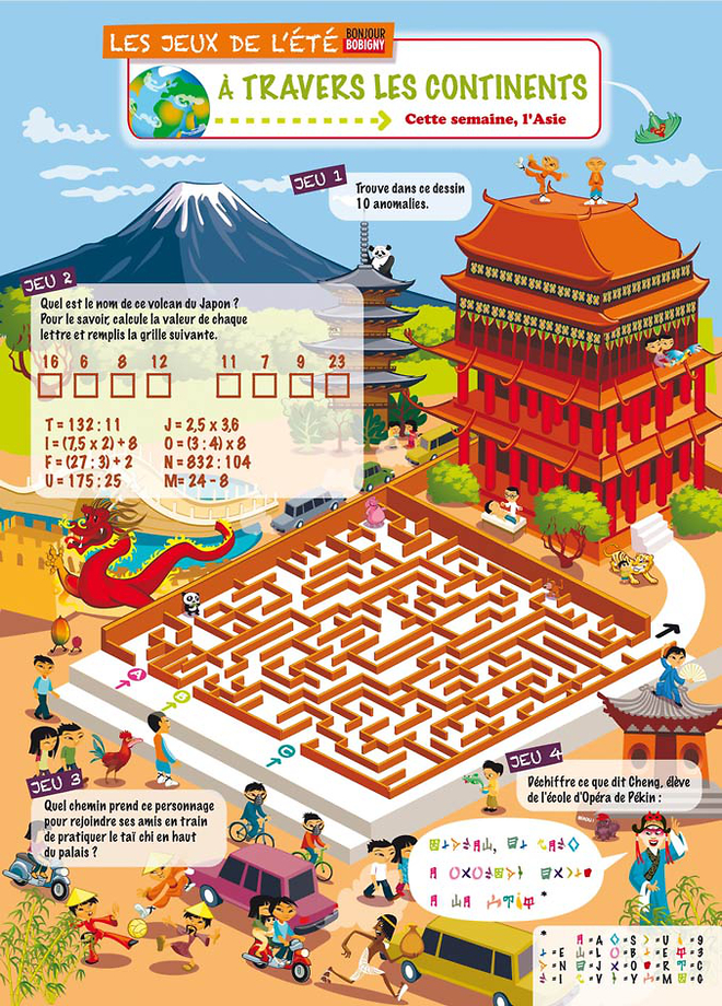 Kilia - Page jeux continents_labyrinthe pagode