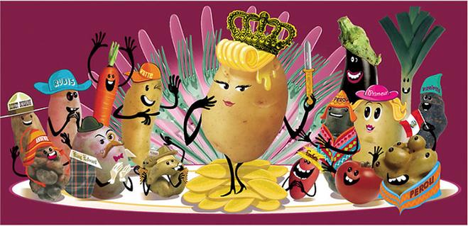 d361874833e Pommes de terre-variétés-reine des patates de Kilia - Illustrateur ...