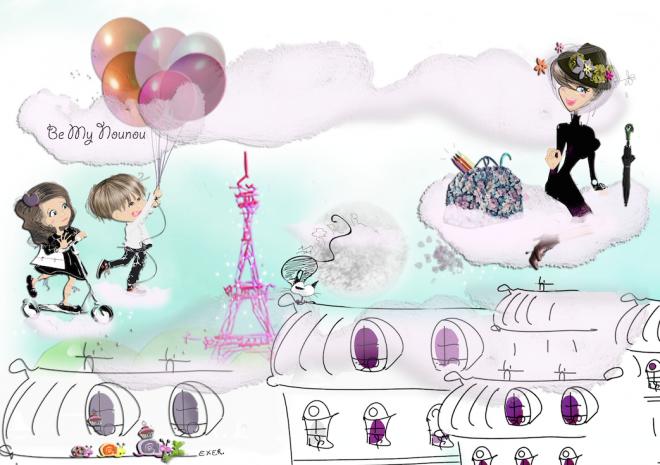 Dessin pour banni re site de s verine exer illustrateur humour bande dessin e cartoon - Site dessin manga ...
