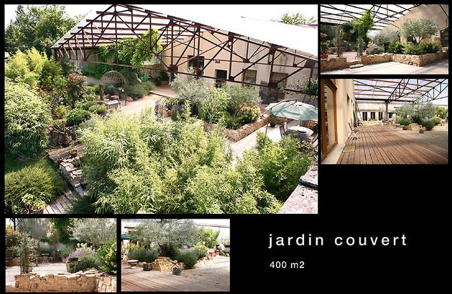 Grand jardin couvert de 400m2 louer de les studios for Jardin 400m2