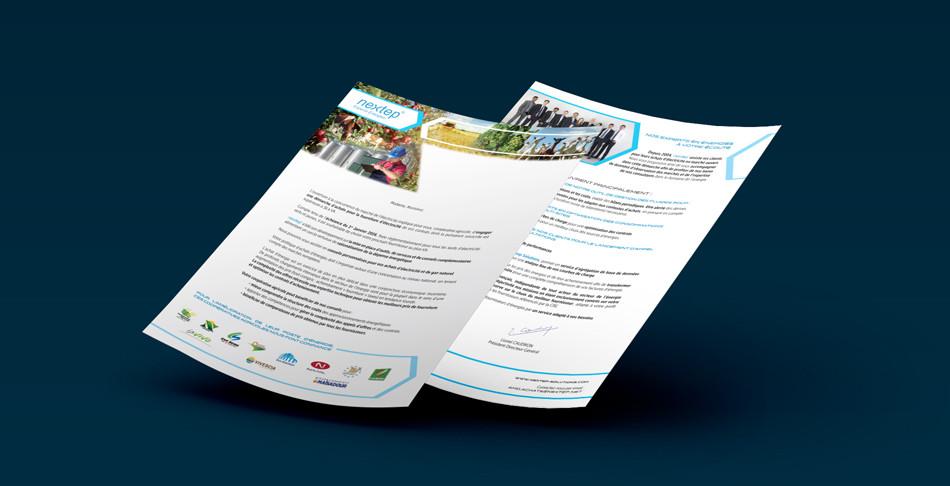 Ab ovo Design - Lettre mailing