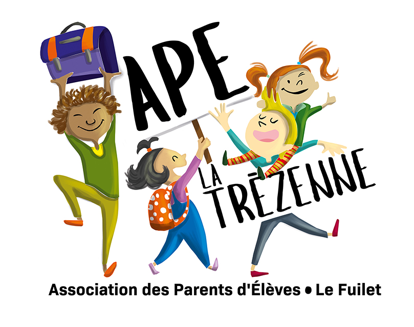 Magali AC illustration - Jeunesse enfants logo association illustrateur Angers