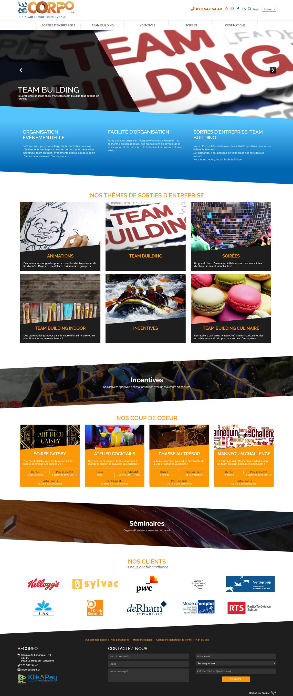 Createur De Site Internet créateur de site internet en suisse ⇒ pixilie - webdesigner